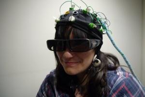 Libby in Mindlab testing gear