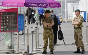 London 2012 olympic army