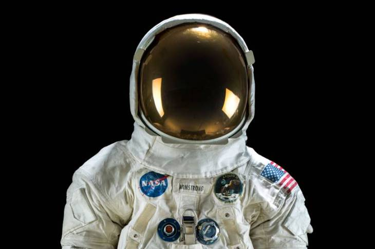 Neil Armstrong's spacesuit (Smithsonian National Air and Space Museum)